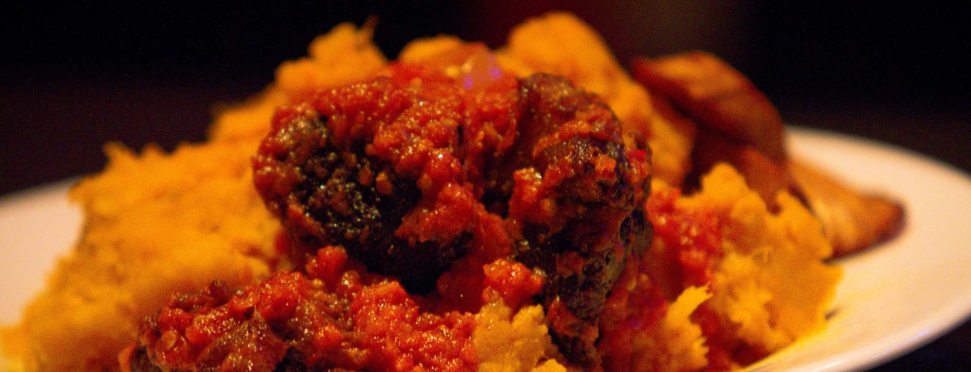 K's Spice African Restaurant Yam pottage image for home page